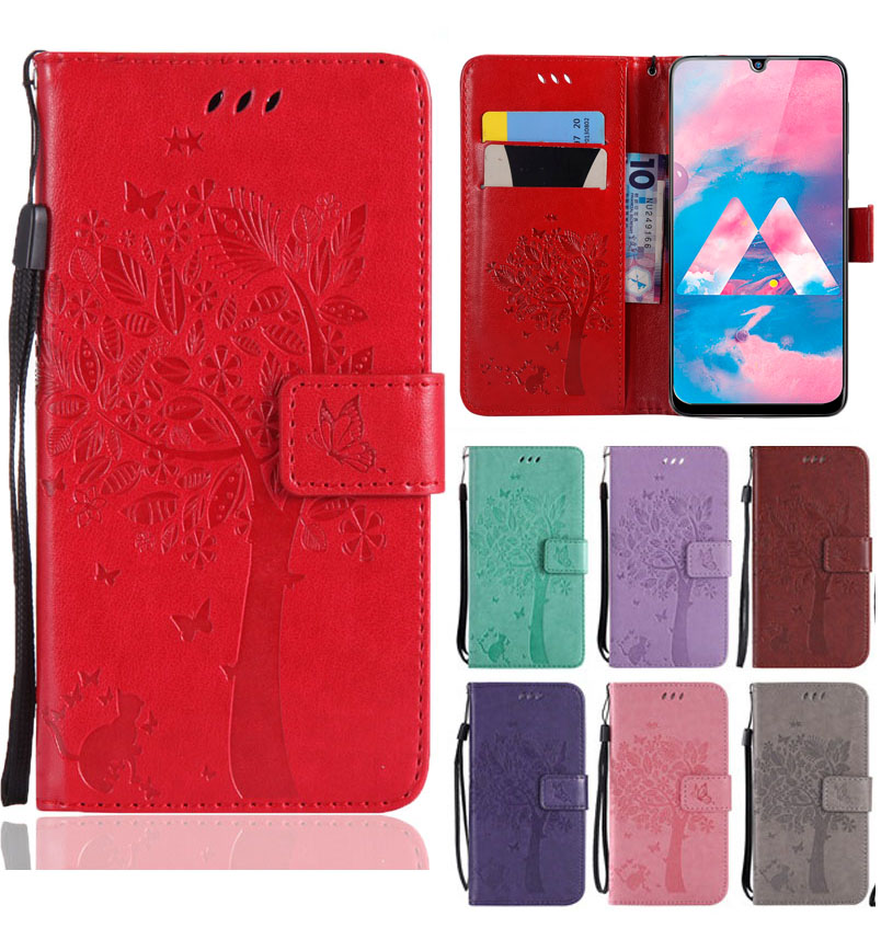 FOR Samsung A50 Flip Leather Wallet Cover For Samsung Galaxy A70 A30 A50 2019 Phone Case On The Galax A 50 30 40 70 50A 30A 70A image