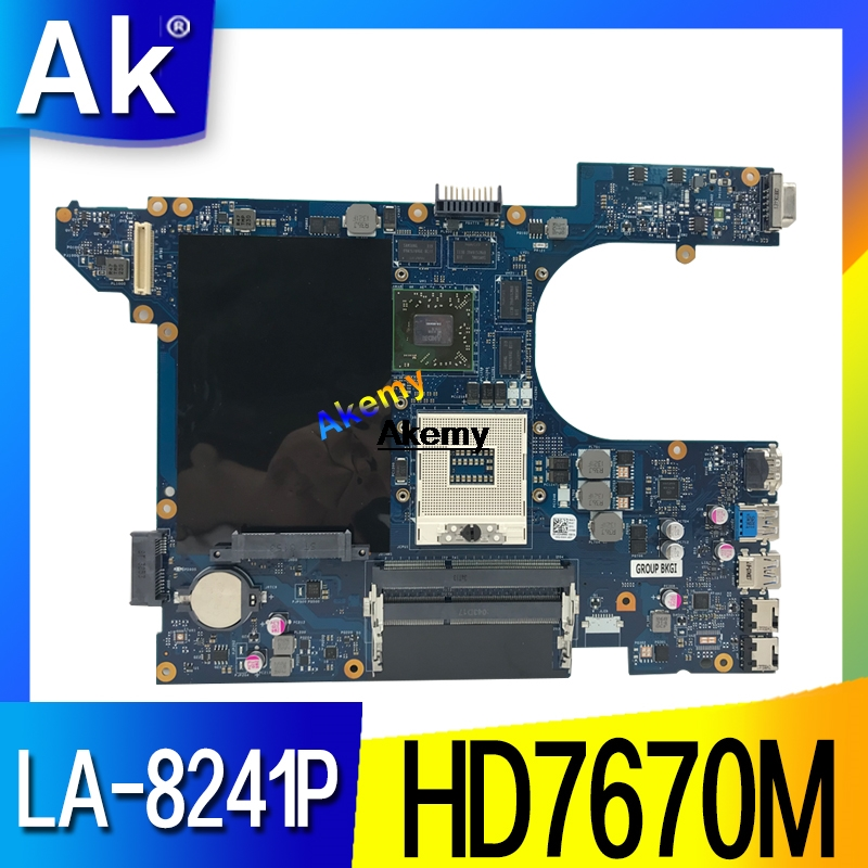 LA-8241P Laptop Motherboard For Dell Inspiron 15R-5520 Original Mainboard HD7670M
