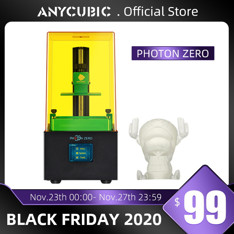Anycubic 2020 New Photon-Zero 3D Printer SLA LCD Printer Quick Slice UV Resin Plus Size Impresora 3d Drucker Impressora