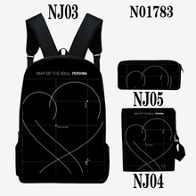 Bangtan7 3-Piece Backpack Set (5 Models)