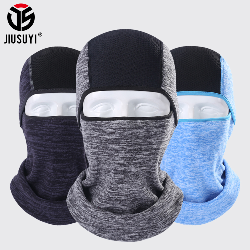 Cold Weather Fleece Thermal Balaclava Full Face Mask Airsoft Ninja Mask Headgear Face Shield Head Cover Beanies Helmet Unisex