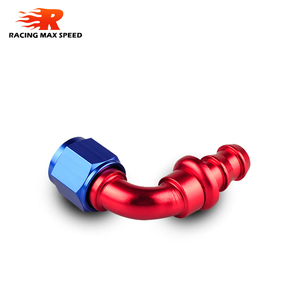 Image 4 - car accessories intercooler Aluminum FITTING Push On Hose Ends Pipe AN6 fitting
