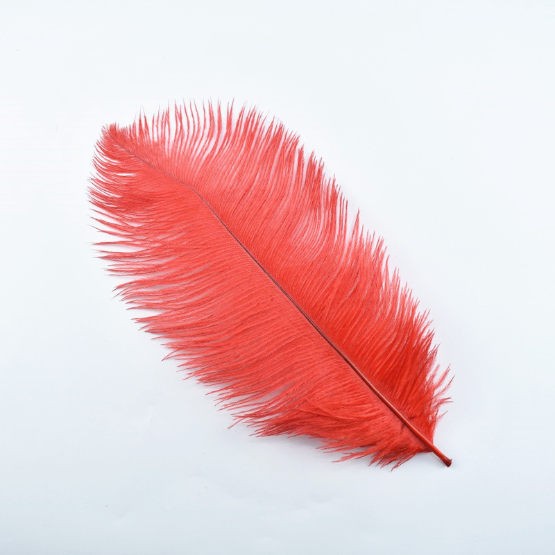 "10pcs/lot Ostrich Feather Decor 25-30cm 10-12"" White Wedding Feathers Plume Decoration Plumas Carnaval Home Carnaval Assesoires"