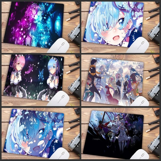 Mairuige Big Promotion Rem Re Zero Anime Girl Durable anime Mouse Pad Version Mousepad Computer Gaming Mouse Pad Gamer Play Mat