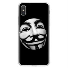 Anonymous SUIT style Inspirational Silicone Phone Case For Motorola Moto G G2 G3 X4 E4 E5 G5 G5S G6 Z Z2 Z3 C Play Plus(China)