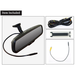 Image 5 - ANSHILONG Car Rear View Mirror DVR with 4.3 inch Monitor + Special OEM Bracket 1080P Digital Video Recorder G sensor
