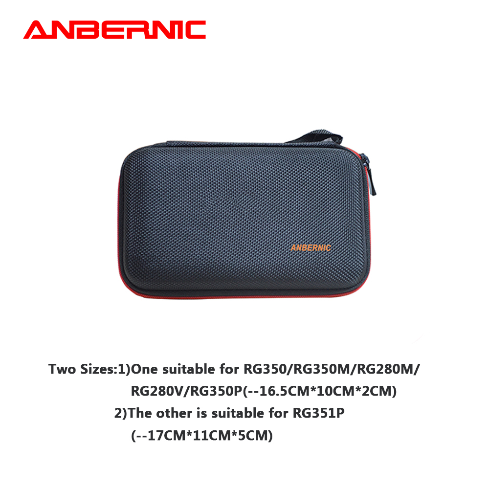 ANBERNIC Protection Bag for Retro Game Console RG350 Version Game Player RG350 Handheld Retro Game Console RG350M/RG280M/RG350P