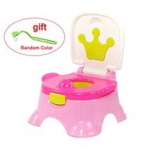 Training Toilet Potty Carrying Urinal Bathroom Travel Baby Boys Cartoon Penico Pee Girl