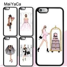 MaiYaCa – coque arrière pour femme, étui pour iPhone 12 mini 11 Pro Max SE 2020 6S 7 8 Plus X XS Max XR 5s