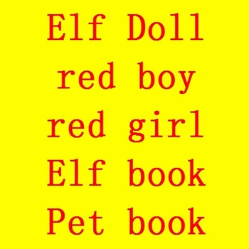 Świąteczna lalka Elf zabawki prezentowe Elf książka czerwony chłopiec czerwona dziewczyna Mix Coulor lalki ubrania zabawki dla dzieci zabawka dla dzieci tanie i dobre opinie Tatalia 5-7 lat bd00 Zapas rzeczy Pluszowe Miękkie i pluszowe Moda Film i telewizja Unisex Fashion doll