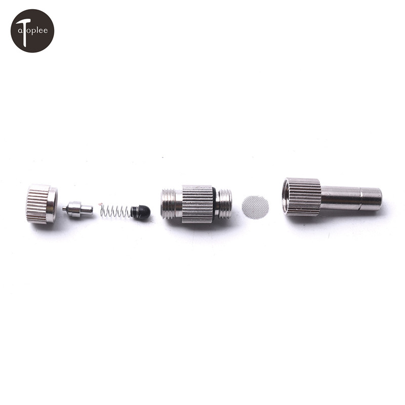 1pcs 0.1/0.3/0.6/0.8/1.0mm Low-pressure Atomizing Nozzle For Micro-fog To Cool Humidificate Disinfect Mini Durable Nozzle