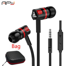 AFY In-Ear Earphone Super Bass Headset with Microphone Stereo Sound Earbuds For Phone iphone xiaomi samsung Fone De Ouvido 3.5mm