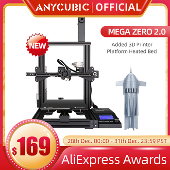 ANYCUBIC-Impresora 3D ANYCUBIC Mega Zero y Mega Zero 2,0, extrusora de impresión...