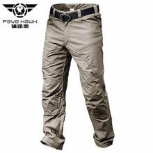 PAVEHAWK Pantalon Cargo Pour Homme Élastique Imperméable Armée Militaire Tactique Randonnée Trekking Survêtement Pantalon Décontracté Survêtement Streetwear