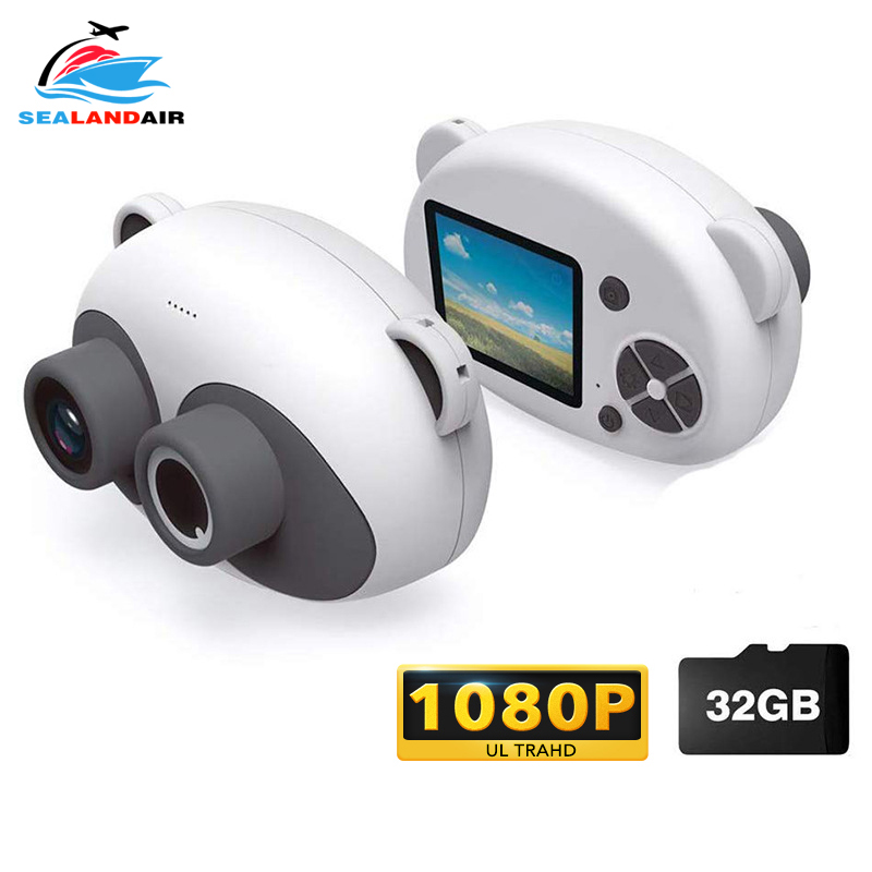 Real Children's Camera HD 1080P WIFI Transmission Video Mini Digital Camera 16G/32G 2 Inch Screen Selfie Camcorder Baby Kids Toy