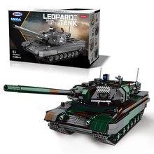 Подарочная коробка новинка 06040 germay leopard 2a6 основной