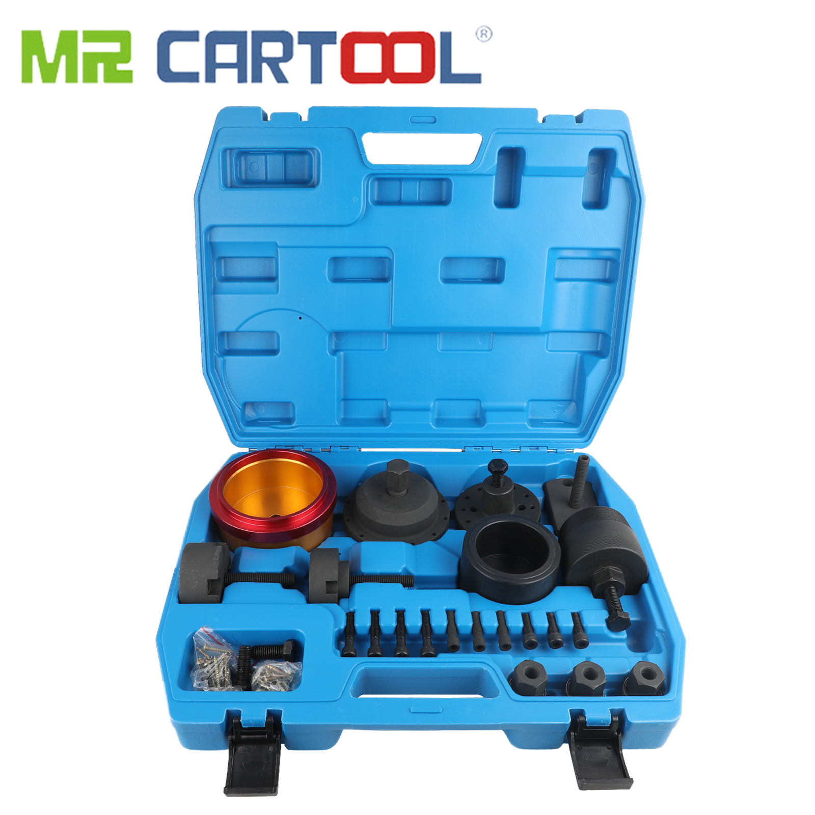 MR CARTOOL Crankshaft Seal Removal Tool Front And Rear Oil Seal Remover &Installer For BMW N40 N42 N45 N46 N46T N52 N53 N54 N55