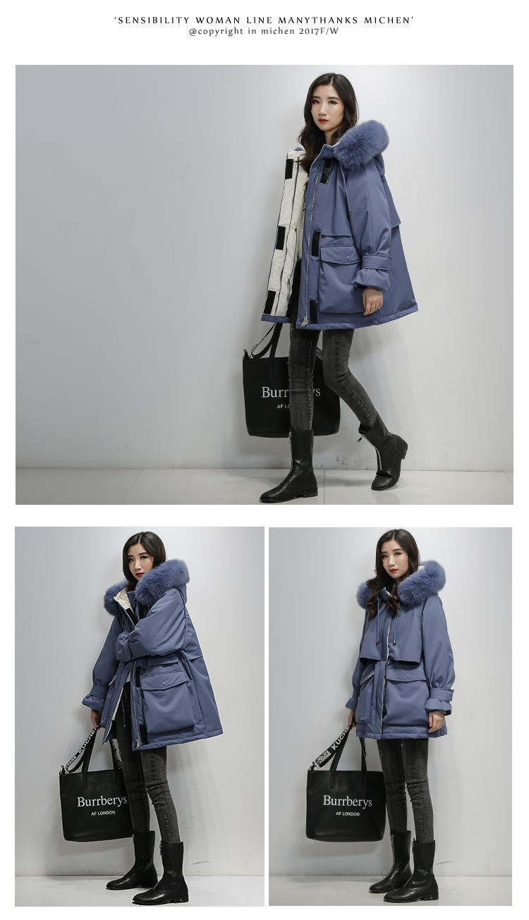 Coat Fitaylor Hooded Natural 5