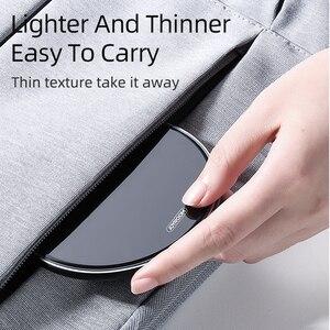 Image 4 - Joyroom 10W chargeur sans fil rapide pour iPhone XR X Xs MAX 11 Pro LED Mini charge pour Samsung S8 S9 S10 Plus chargeur de téléphone
