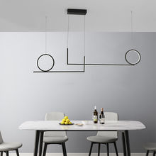 Stylish Modern led pendant lights lamp for dining room kitchen room bar shop black or white color hanging pendant lamp fixtures artpad white black modern design metal pendant lights for dining room kitchen e27 base bird cage retro pendant lamp bar light