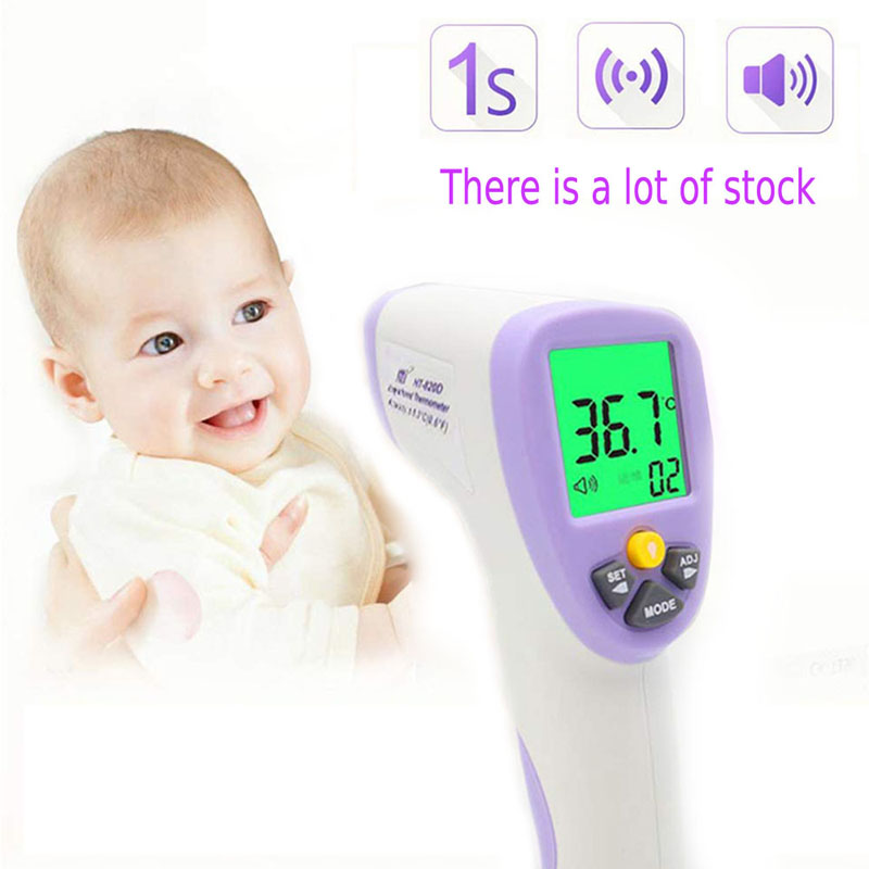 Digital Termomete Baby Adult Infrared Forehead Body Thermometer Gun Non-contact Temperature Measurement Device