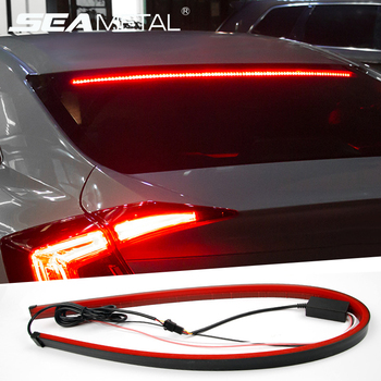 12V Car LED Strip Brake lights Universal Rear Tail Warning Turn Signal Lamp DRL Daytime Running Light Auto Interior Accessories