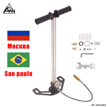 4500psi 30Mpa Air PCP Paintball Pump Air Rifle hand pump 3 Stage High pressure with filter Mini Compressor bomba pompa not hill футболка pompa pompa mp002xw023z7