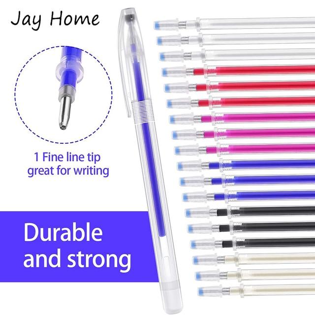 Фото 6 шт ручка для стирания тепла ткань маркировочная и 12 термостираемая
