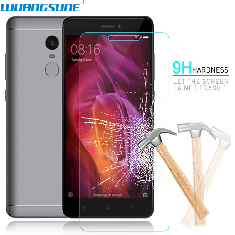 For Xiaomi redmi 3 3S 3X 4A 4X 5A a1 6 Screen Protector Tempered glass Film 9H for Redmi note 4X 5A Original screen protector