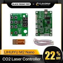 Cloudray LIHUIYU M2 Nano Laser Điều Khiển Mẹ Chính Bảng + Bảng Điều Khiển + Dongle B Hệ Thống Khắc Cắt DIY 3020 3040 K40