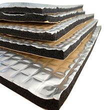 30x50cm Noise Insulation Car Rubber Thermal Insulator Fire Protection Automotive Sound Deadener Engine Sticker Soundproofing Mat