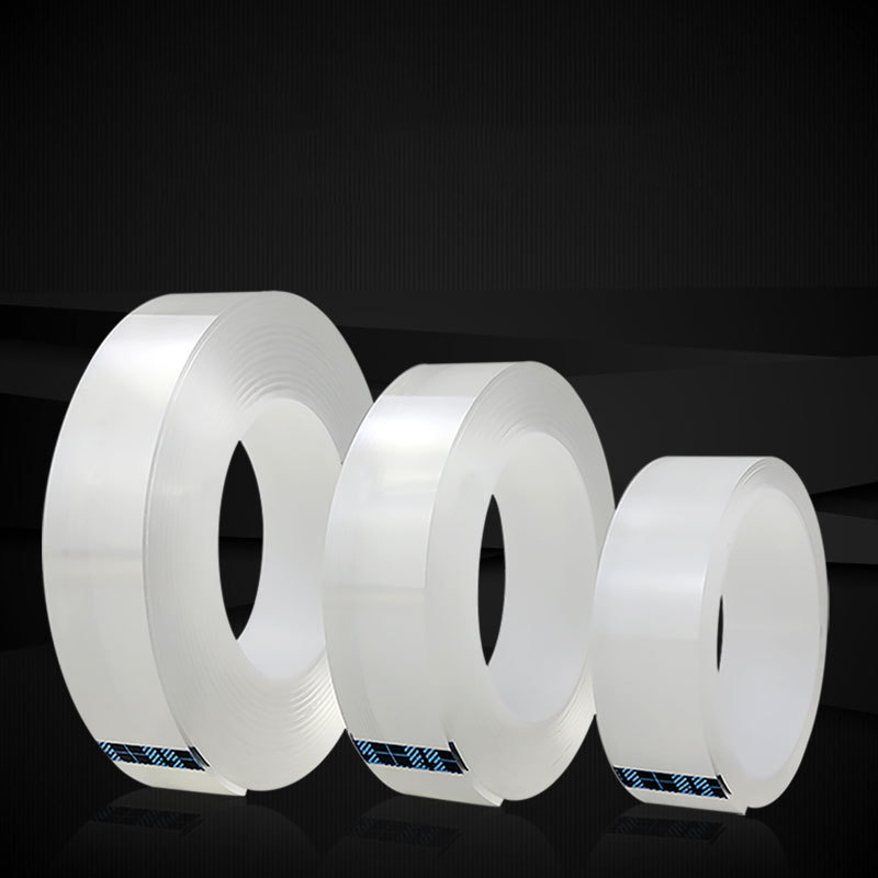 Brand Double-Sided Tape Adhesive Tape Transparent Magic Nano Tape Washable Reusable Nano-No Trace Paste Removable Glue Cleanable