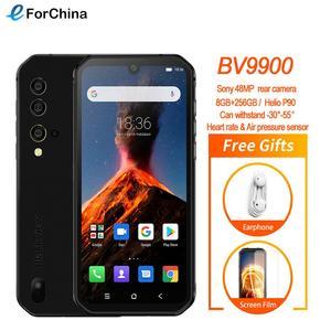 Blackview BV9900 Helio P90 Восьмиядерный 8 Гб 256 ГБ 5,84 ''FHD + IP68 водонепроницаемый прочный смартфон 48MP Quad камера заднего вида мобильный телефон