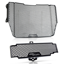 For Triumph Speed Triple 1050 S RS Motorcycle Speed Triple 1050S RS Radiator Guard Protector Grille Cover Oil cooler Guard 2016+ for triumph street triple r s rs 2017 2018 2019 2020 streettriple streettriplers radiator grille guard protector cover motorbike