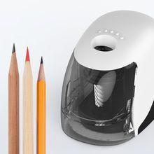 USB elektrikli kalemtıraş basit iş tarzı otomatik bileme masaüstü okul ofis malzemeleri
