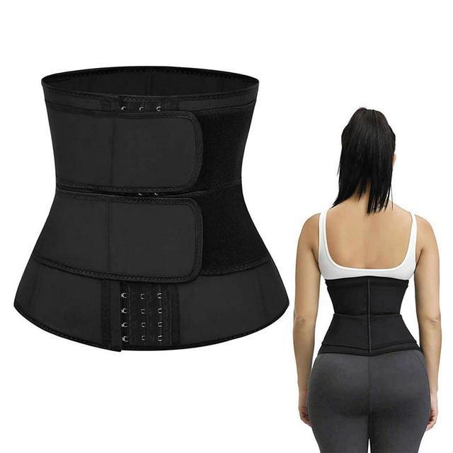 Women Waist Trainer Corset Weight Loss Sports Body Shaper Tummy Sweat Shapewear Workout Trimmer Belt Corset Waist Slimming Tool