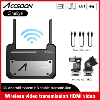 Устройство для беспроводной передачи данных Accsoon CineEye, 1080P, Mini HDMI, передатчик видео для IOS, iPhone, iPad, Android, IOS