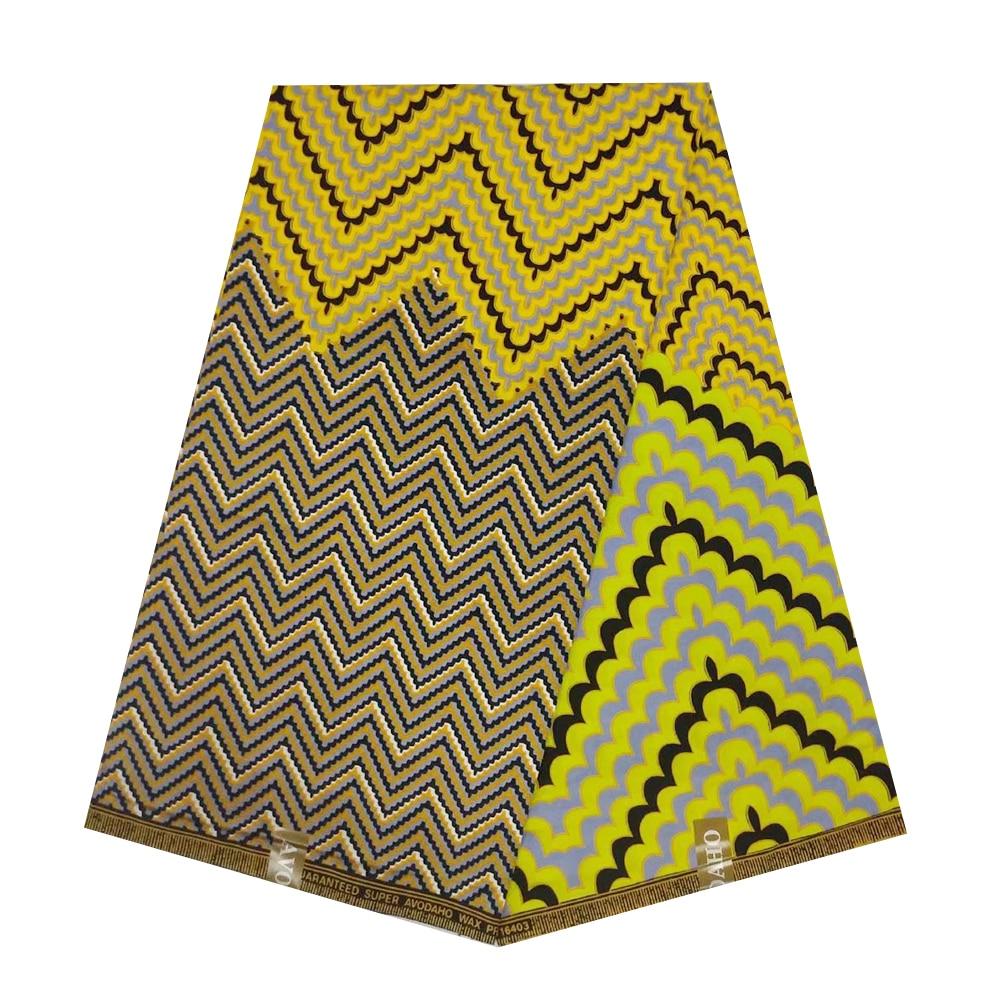 Ankara Nigerian African Pange Wax Fabric 100% Cotton High Quality Tissue Real Holland Block Print Super JAVA Wax Cloth Material