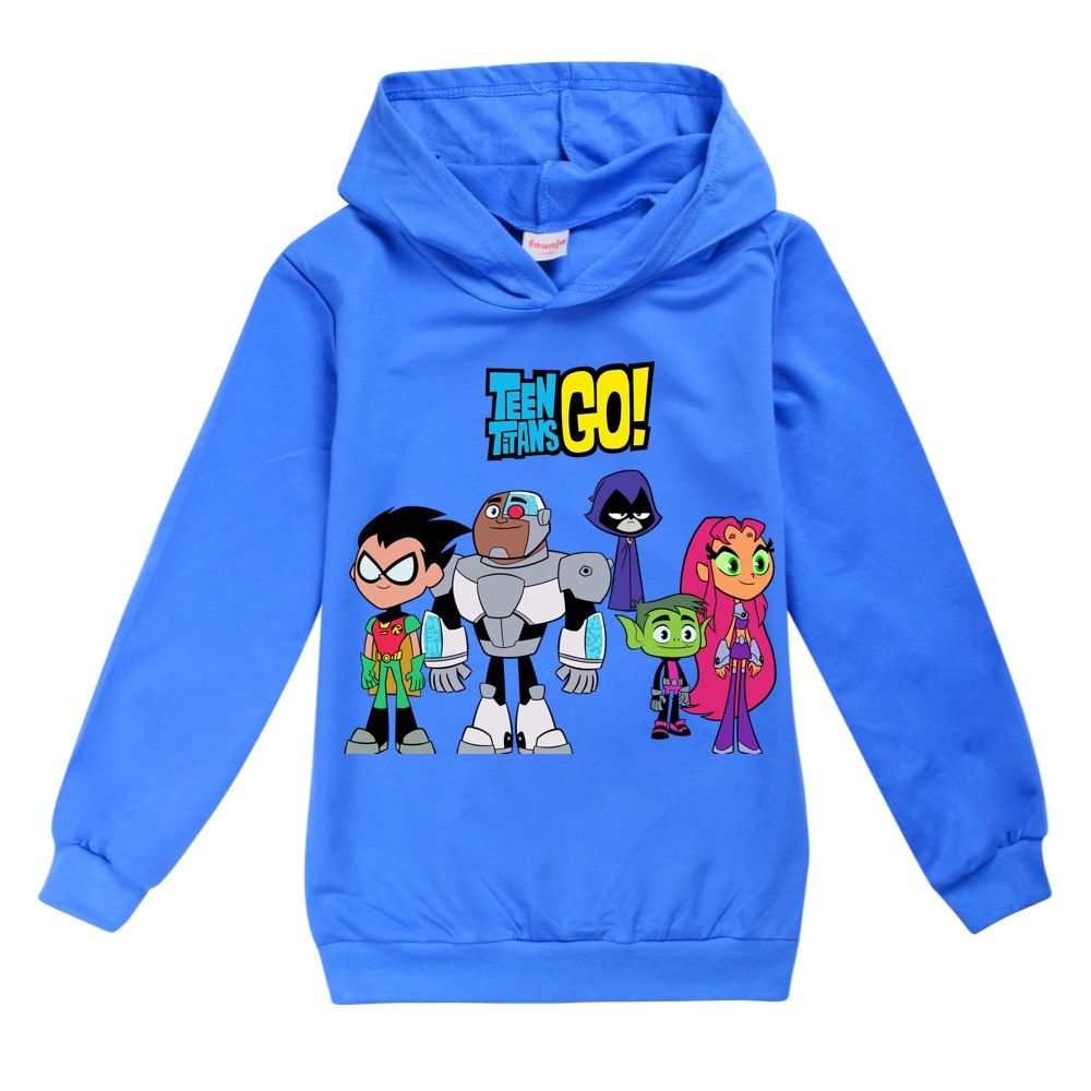Toddler Shirts Christmas T Shirt Cotton Teen Titans GO  Boys Tops Thanksgiving Teenage Clothes 12 14 Year Little Girls Clothing 2