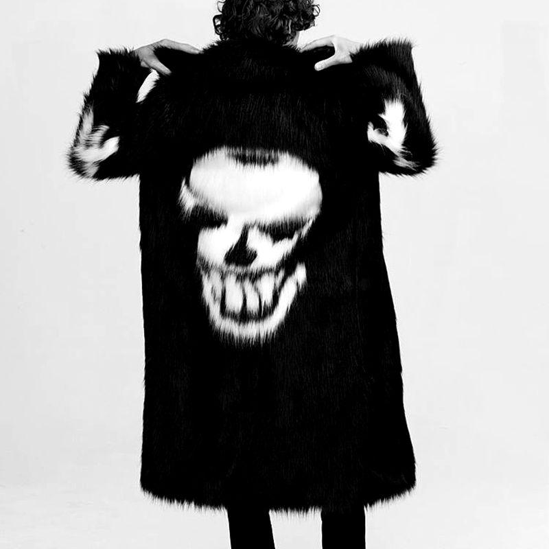 Новый осенний и зимний свободный Зимний толстый пуховик, Толстая черная мужская одежда - 2