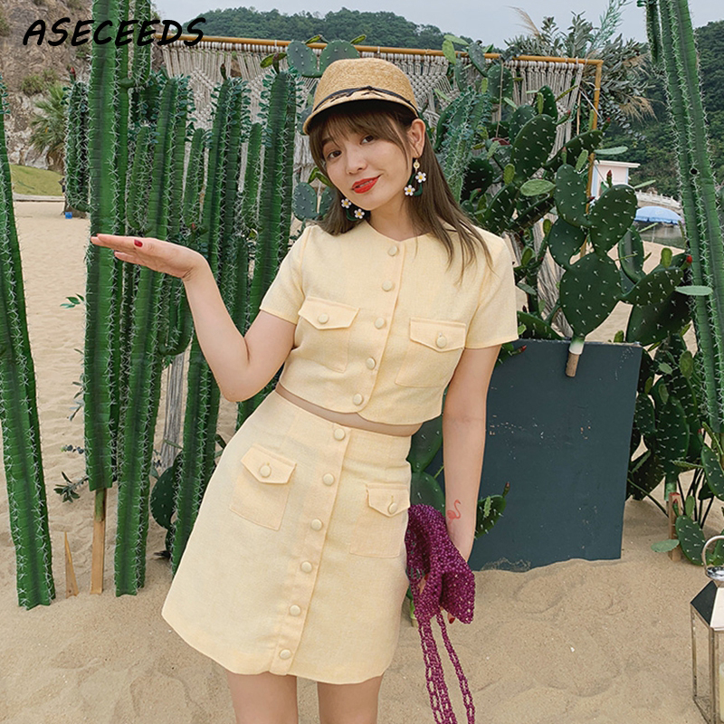 Summer clothes for women vacation outfits crop top skirt set 2 piece sets women two piece sets womens outfits 2 piece skirt set