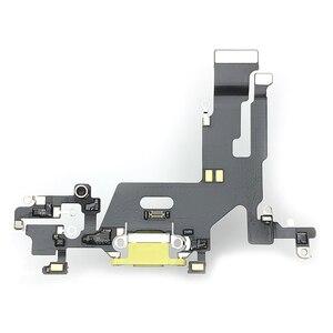 Original para o iphone 11 porto de carregamento cabo flexível porto de carregamento soquete doca conector placa módulo peças de reposição
