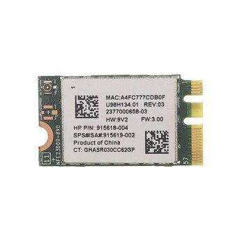 Realtek RTL8723DE 300 Мбит/с NGFF 2,4G Беспроводная + bluetooth 4,0 сетевая карта для HP Shenzhou Samsung Acer SPS 915619-001 915618-002