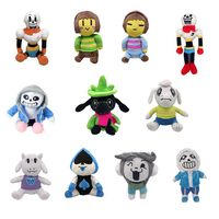 Undertale Plush Toys Undertale Sans Papyrus Chara Game Doll Stuffed Toys for Children Birthday Kids Gifts 11 Choices 22-36 CM