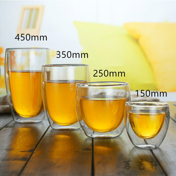 drinking water glass 6 pieces home colored juice glass tea drink 250 ml 300 ml 470 ml creative embossing cup european pink blue Heat Resistant Double Wall Glass Cup 80/150/250/350 Ml Beer Coffee Water Cups Transparent Cup Wholesale Drink Glass Set