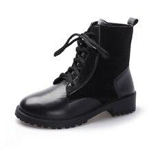 Новое поступление; Женские ботинки; Сезон осень зима; однотонные