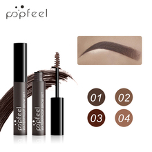 все цены на POPFEEL Eyebrow Enhancer Waterproof Eyebrow Gel Eyebrow Cream Eyebrow Tattoo Long Lasting Fine Liquid Brow Paint Makeup 4 Colors