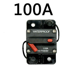 30A-300A AMP devre kesici sigorta sıfırlama 12-48V DC araba tekne otomatik su geçirmez sigorta kutusu sigorta araba Fusibles Amplificador