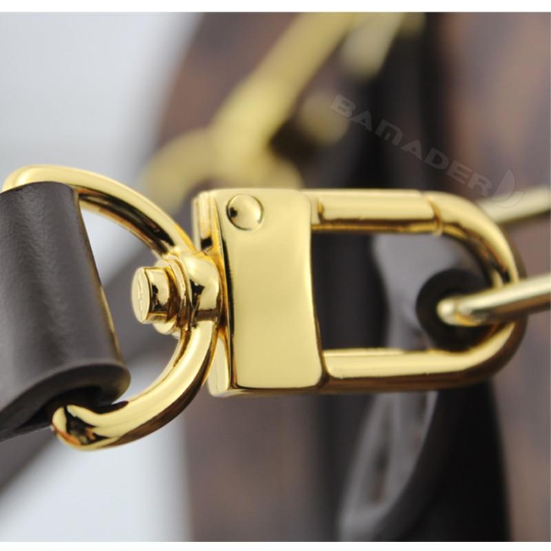 Image 5 - BAMADER obag Handle Short Bag Strap Short Shoulder Strap Handbag  strap Genuine Leather Bag belt High Quality Handbag AccessoriesBag  Parts