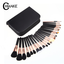 CHMAKE 29PCS Makeup Brushes Set Professional Cosmetic Brush With Case High Quality Nature Bristle Make up brushes